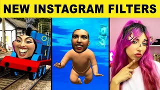 Trying the BEST NEW Instagram Filters -