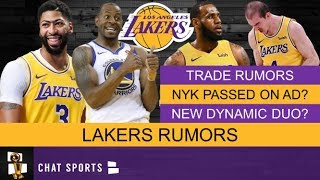 Lakers Rumors: 3 Trades The Lakers Could Make To Boost Their Bench + Anthony Davis Knicks Trade News