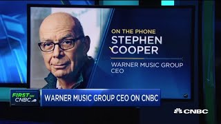 Warner Music CEO Stephen Cooper on decision to re-enter public markets