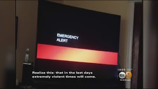 Creepy Emergency Broadcast Alert Hints At 'End Of The World' For Saturday