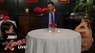 Jimmy Kimmel Talks to Kids About Love