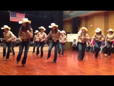 Country line dance 〝Banjo - YouTube