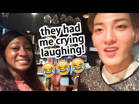 my FUNNY K-POP IDOL FRIENDS are BACK! 😂😂😂