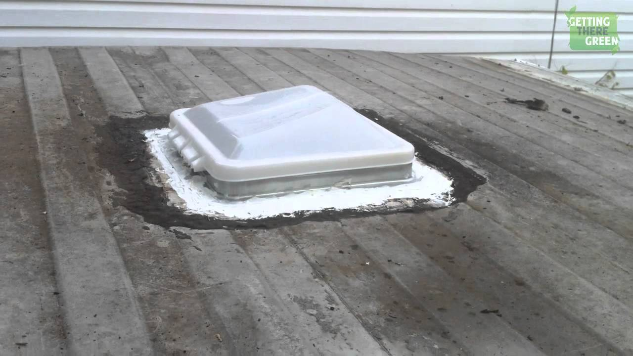 Remove And Replacing Trailer Roof Vent Camper Trailer