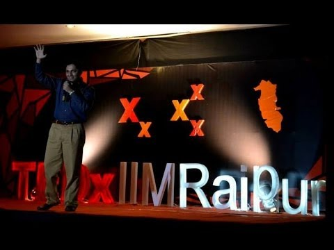 Akash Gautam- Motivational Speaker for youth at TEDxIIMRaipur