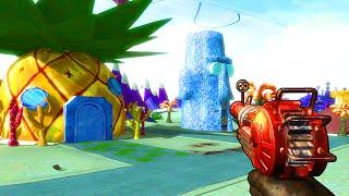 SPONGEBOB ZOMBIES DLC 5 CONFIRMED - (Call of Duty Zombies Mod Gameplay)