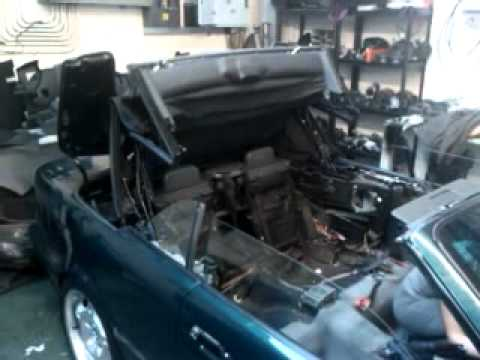 Bmw E36 Convertible Roof Operational Youtube