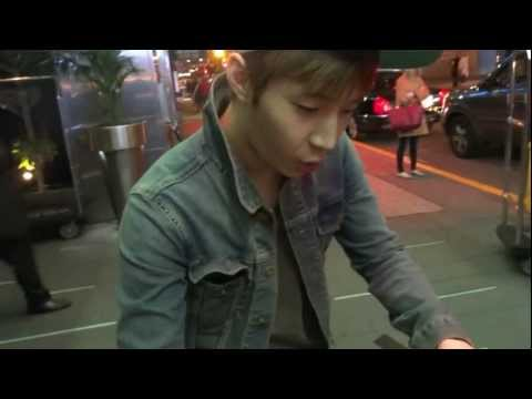 Henry (Super Junior) Outside Of W Hotel