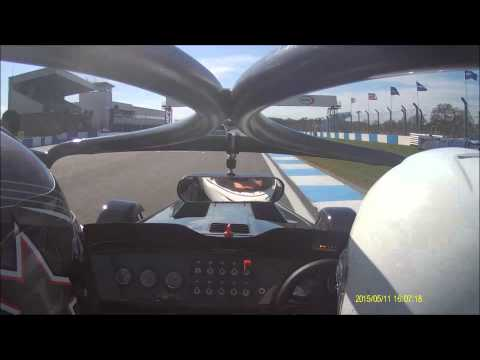 Caterham 620R at Donington Park GP Circuit