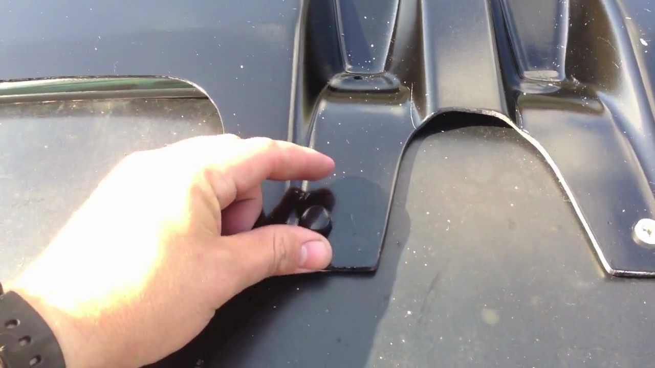 Lund Moonvisor Sunvisor Install Youtube