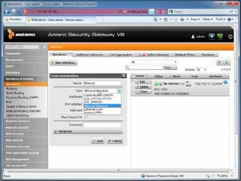 Astaro Training Series - Ep.1 - Installation and Basic Configuration