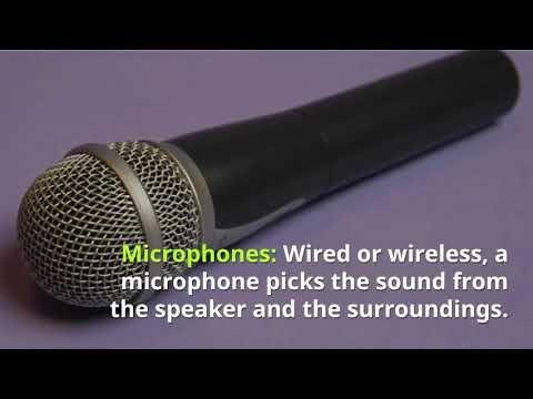 Speakers Rental Dubai - Speaker Rental in Dubai
