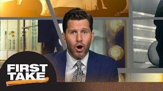 Will Cain challenges Shaquille O'Neal's comments on LeBron James | First Take | ESPN