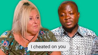 Michael and Angela Break Up because she sneaky | 90 Day Fiancé