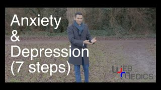 Seven Steps to Help with Depression and Anxiety
