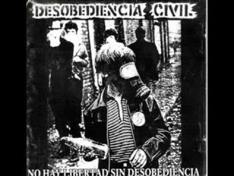 desobediencia civil nuestro sentir