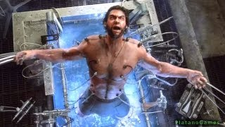 The Wolverine - Uncaged Story: Part 8 - Weapon X Facilty - X-Men: Origins Videogame - HD