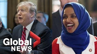 Trump says Ilhan Omar should resign in response to perceived anti-Semitic tweets