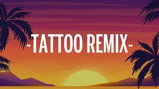 Rauw Alejandro & Camilo - Tattoo Remix (Letra/Lyrics)
