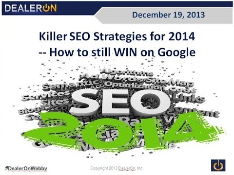 Killer SEO Strategies for 2014 -- How to WIN on Google