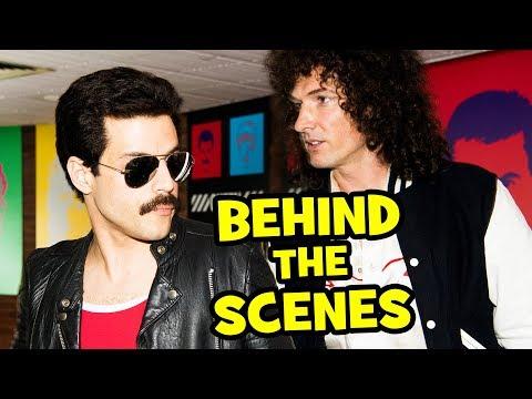 Behind The Scenes on BOHEMIAN RHAPSODY - Movie B-Roll & Bloopers