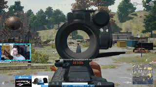 Shroud Kills The Entire Population Of Military Island! - Playerunknown's Battlegrounds