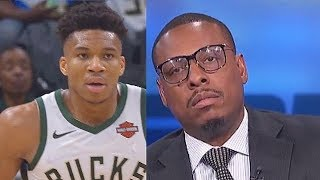 Giannis SHUTS UP PAUL PIERCE WITH BUCKS BY ELIMINATING CELTICS IN GAME 5! Celtics vs Bucks
