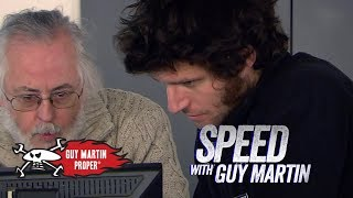 World's Fastest Human-Powered Boat - meeting the brains | Guy Martin Proper