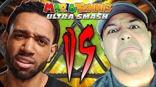 """""""IT'S THE BATTLE YOU'VE ALL BEEN WAITING FOR!"""" - [Mario Tennis Ultra Smash]"""