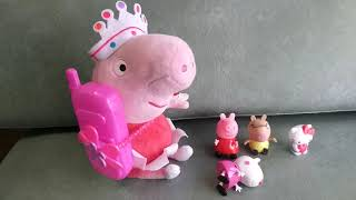 Five little babies jumping on the bed ( Peppa Pig, Suzy Sheep, Hello Kitty, Pedro Pony, Paw Patrol)