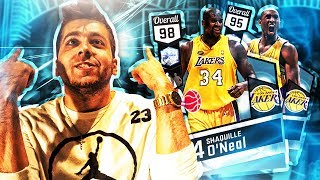 NBA 2K17 MY TEAM! 1 MILLION VC PACK OPENING! 2 RARE DIAMONDS IN ONE BOX!