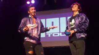 Hat of Dares - Dolan Twins (4OU Tour, Montreal, September 11th 2016)