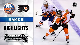 NHL Highlights | Second Round, Gm5 Islanders @ Flyers - Sept. 1, 2020