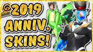 Overwatch - 2019 ANNIVERSARY EVENT SKIN IDEAS (Frog D.VA, Luchadora Sombra, AND MORE)