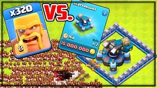 EVERY Troop vs. NEW Scattershot! Clash of Clans Town Hall 13 UPDATE