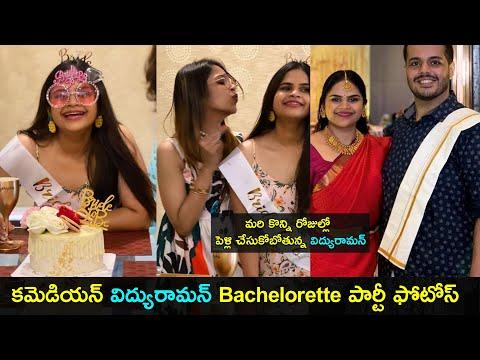 Actress Vidyullekha Raman's bachelorette party photos go viral