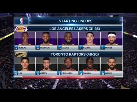 2019-03-14 林書豪  暴龍勝湖人 111:98  比賽精華  Jeremy Lin full game highlight raptors vs lakers