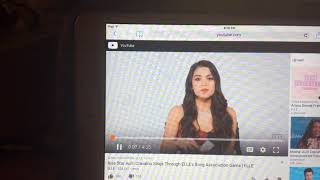 Auli'i Cravalho Singing How far I'll go - YouTube