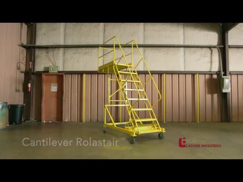 Rolastair™ Rolling Ladder Stands