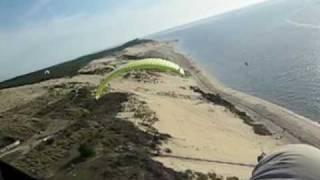 Parapente depuis la dune du pilat