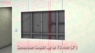 Kapro 389 Laser Stud Finder Electronic Live Wire, Metal & Stud Sensor