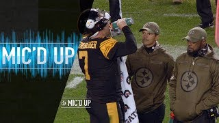 "Big Ben & Mike Tomlin Mic'd Up vs. Panthers ""Can I get a hug?"" 