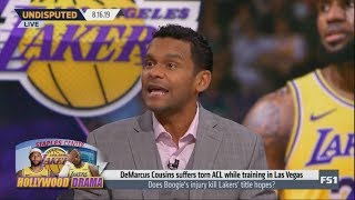 Jason McIntyre explains why the Lakers' title hopes dashed after DeMarcus Cousins injury