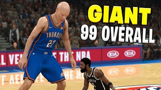 Giant 99 Overall In NBA 2K21...