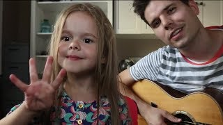 4-Year-Old and Her Dad Perform 'Firework'