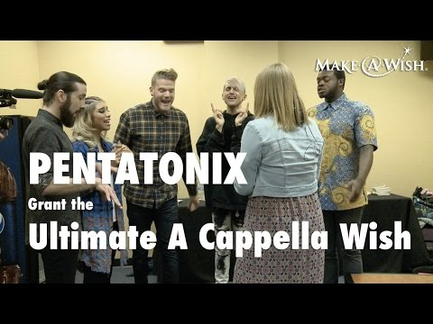 Pentatonix Grant the Ultimate A Cappella Wish