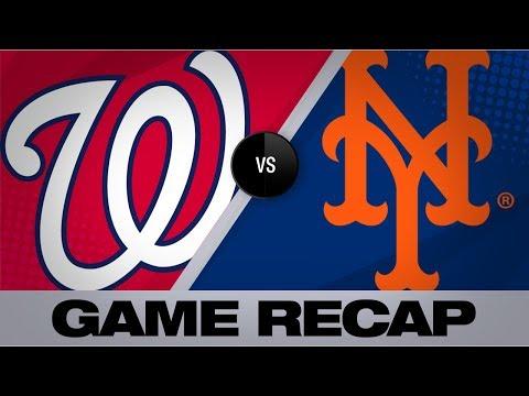 Conforto's walk-off caps Mets' comeback win | Nationals-Mets Game Highlights 8/9/19