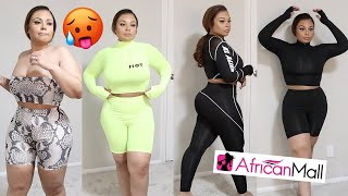 Thick / Curvy African Mall Athletic Try On Haul