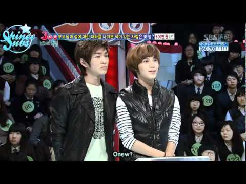 (Eng) 100131 Sparta - SHINee Onew and Taemin cut
