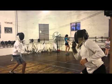 Slow Motion Fencing